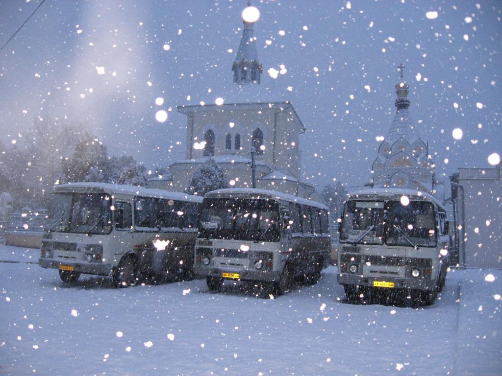 море автобус зимой картинка работа