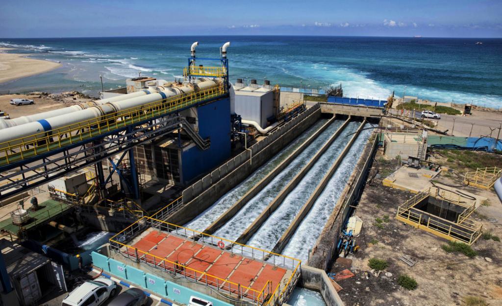 Украина отреагировала на заявление Аксёнова о строительстве в Крыму опреснительных станций