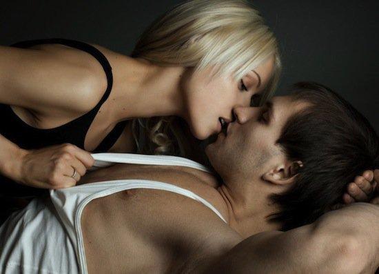 Секс на приходе под феном