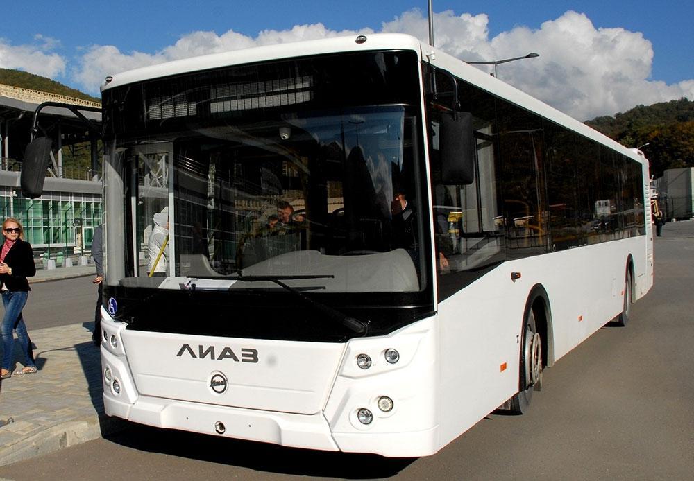новые автобусы лиаз фото используются