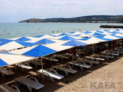 Пляжные моменты: Феодосия, набережная Десантников и пляж «Камешки»