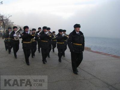 В Феодосии отметили годовщину Керченско-Феодосийского десанта (видео)