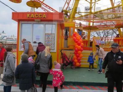 В Феодосии открылся парк аттракционов «Сказка»