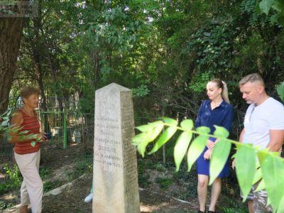 Единственный на юго-востоке России памятник «белым» облагородят
